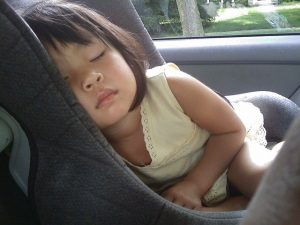 NHTSA proposes the number of young children in rear-facing car seats.