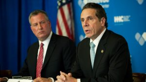 Andrew Cuomo and Bill De Blasio Feud Hurts The Big Apple Residents