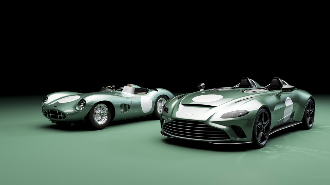 Aston Martin Makes Their Latest DBR1 Tribute With V12 Speedster